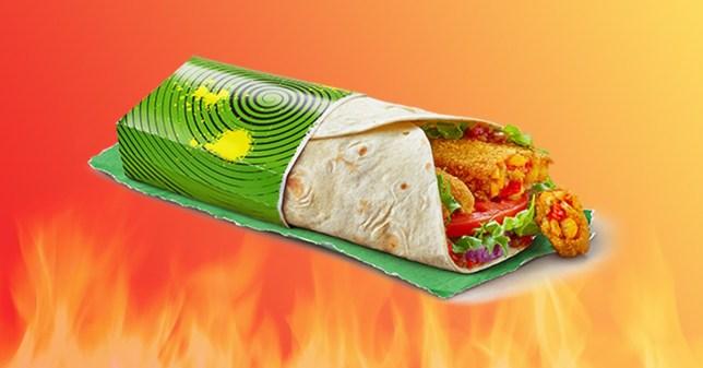 McDonald's is giving away free veggie wraps this week