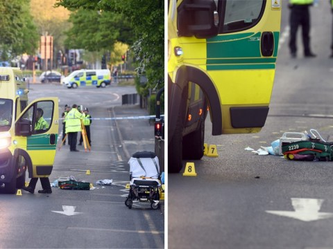 Boy, 15, fighting for life after being hit by ambulance on 999 call