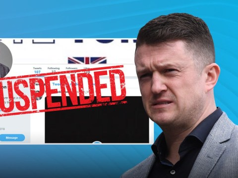 New Tommy Robinson Twitter account suspended hours after it appeared