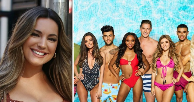 Kelly Brook and Love Island 2018 cast