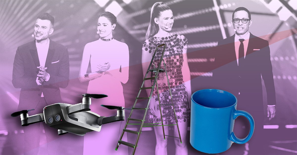 Forbidden items at this year's Eurovision