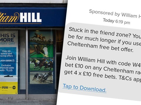 William Hill advert banned for linking sexual success to gambling