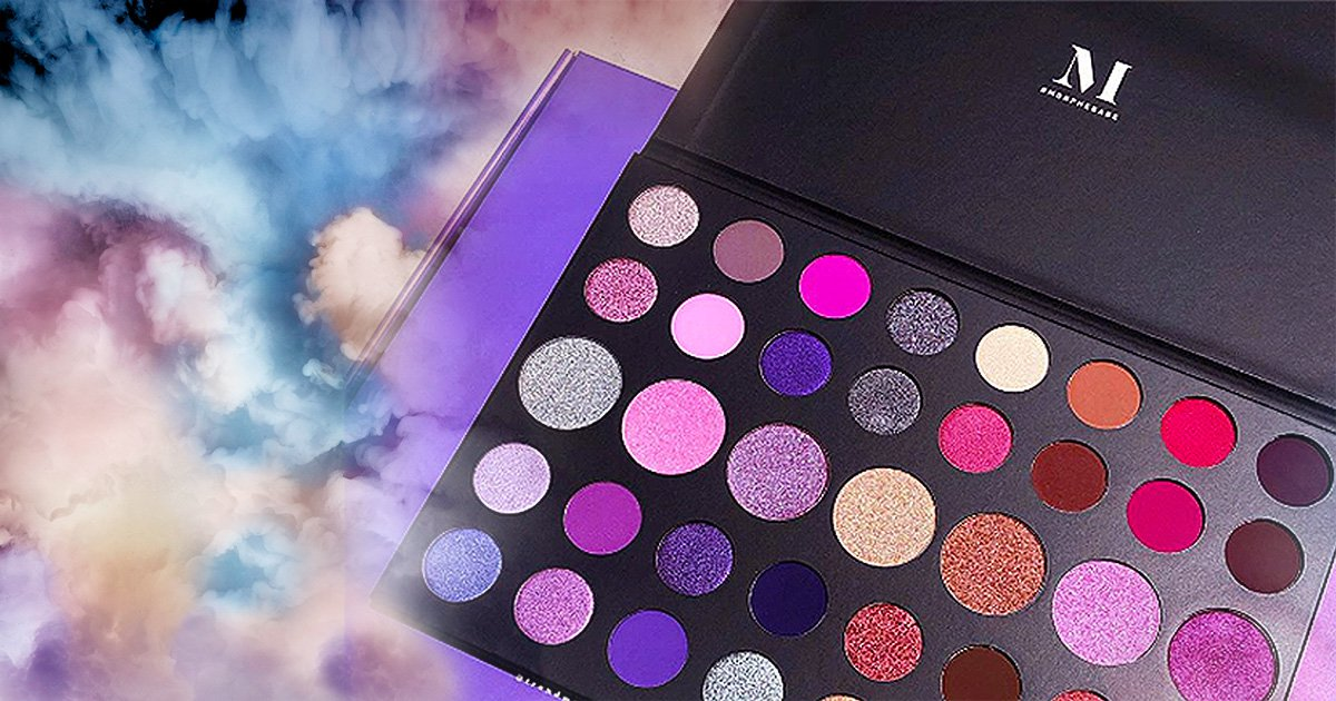 Morphe Cosmetics releases brand new palette full of sparkles and shimmers