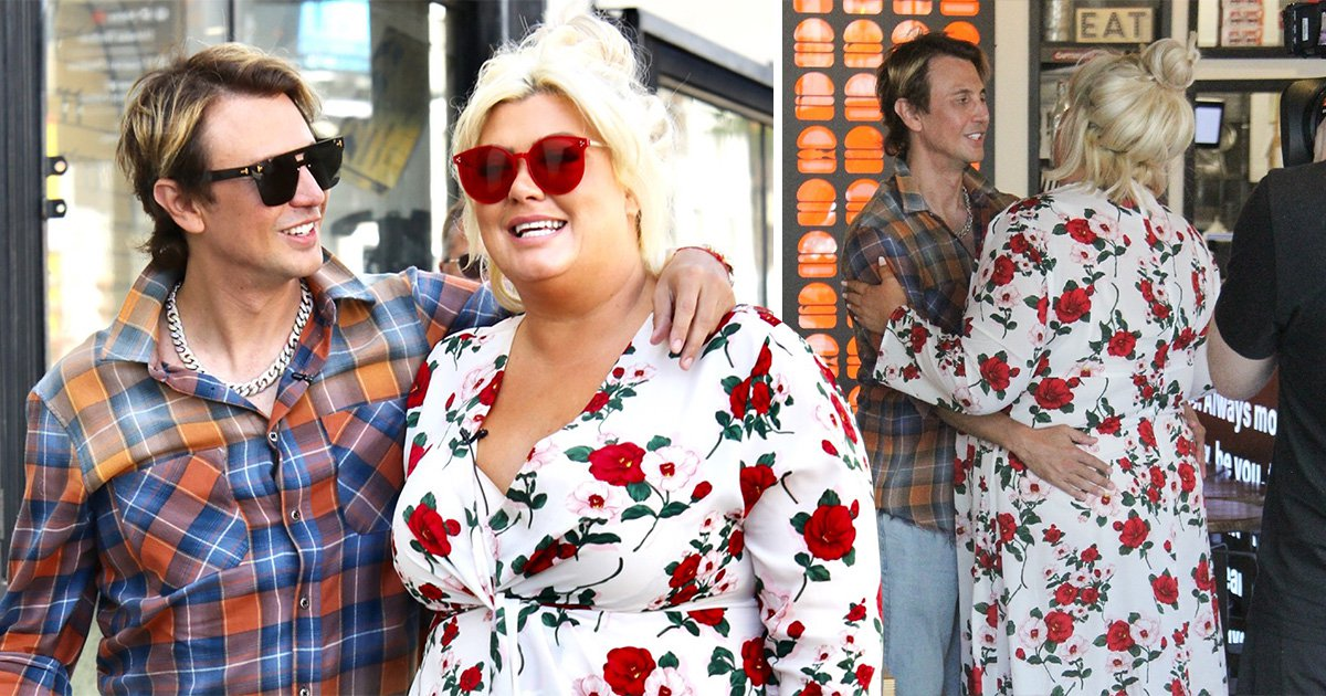 Gemma Collins explores LA with fellow Celebrity Big Brother contestant Jonathan Cheban