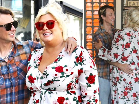 Gemma Collins one step away from Kim Kardashian as she reunites with Jonathan Cheban in LA