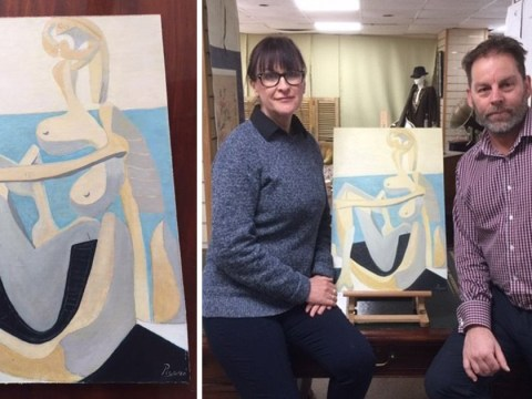 Painting bought at car boot sale could be £750,000 Picasso
