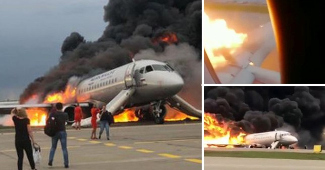 Russian jet crashed 'because captain couldn't land without
