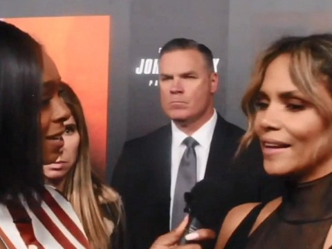 Halle Berry stops on John Wick 3 red carpet for two black reporters who were denied interview