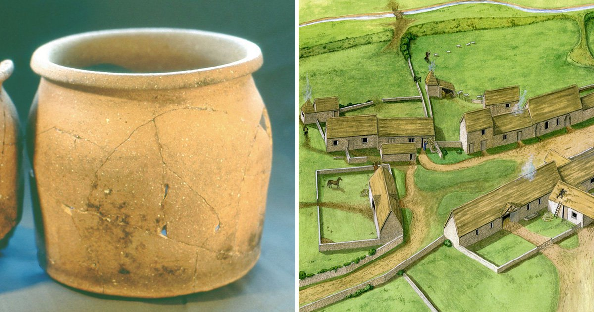 Scientists uncovered the diet of medieval peasants by analysing their pots