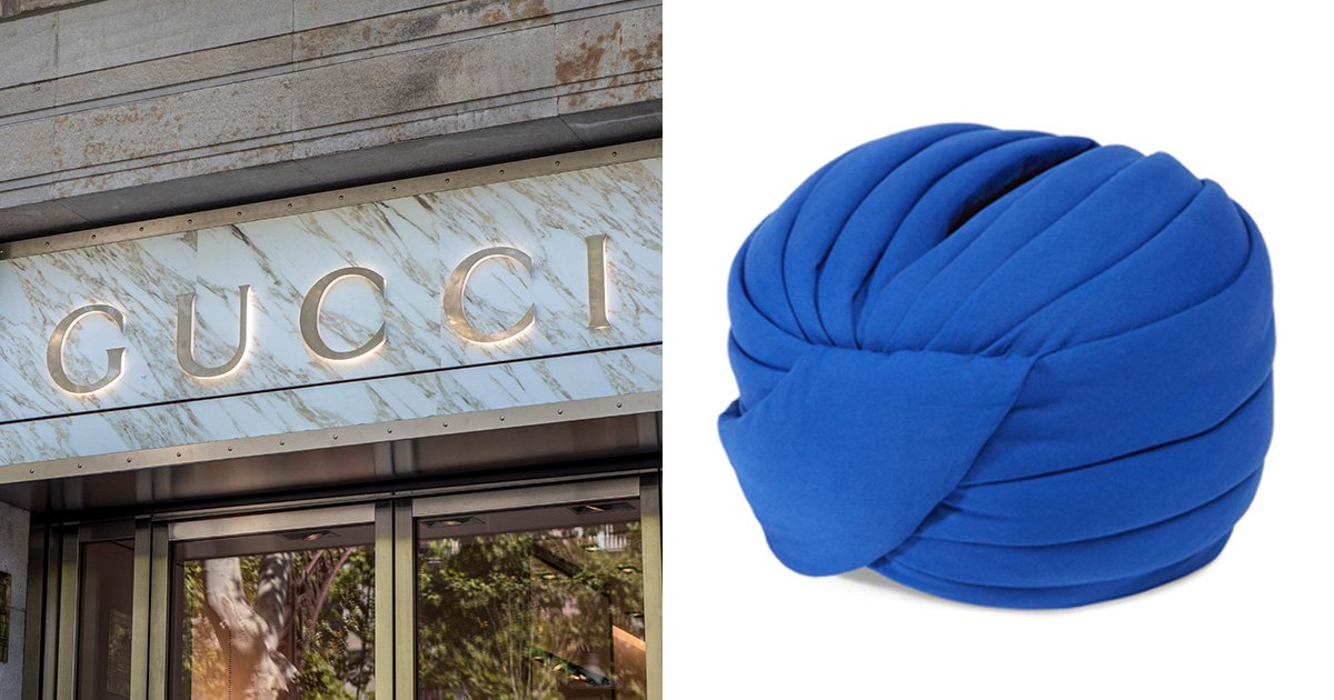 People are outraged after Gucci sells 'trendy turban' for $800