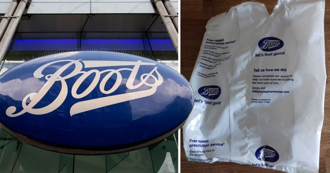 Boots has come under fire for changing its paper medicine bags for plastic ones