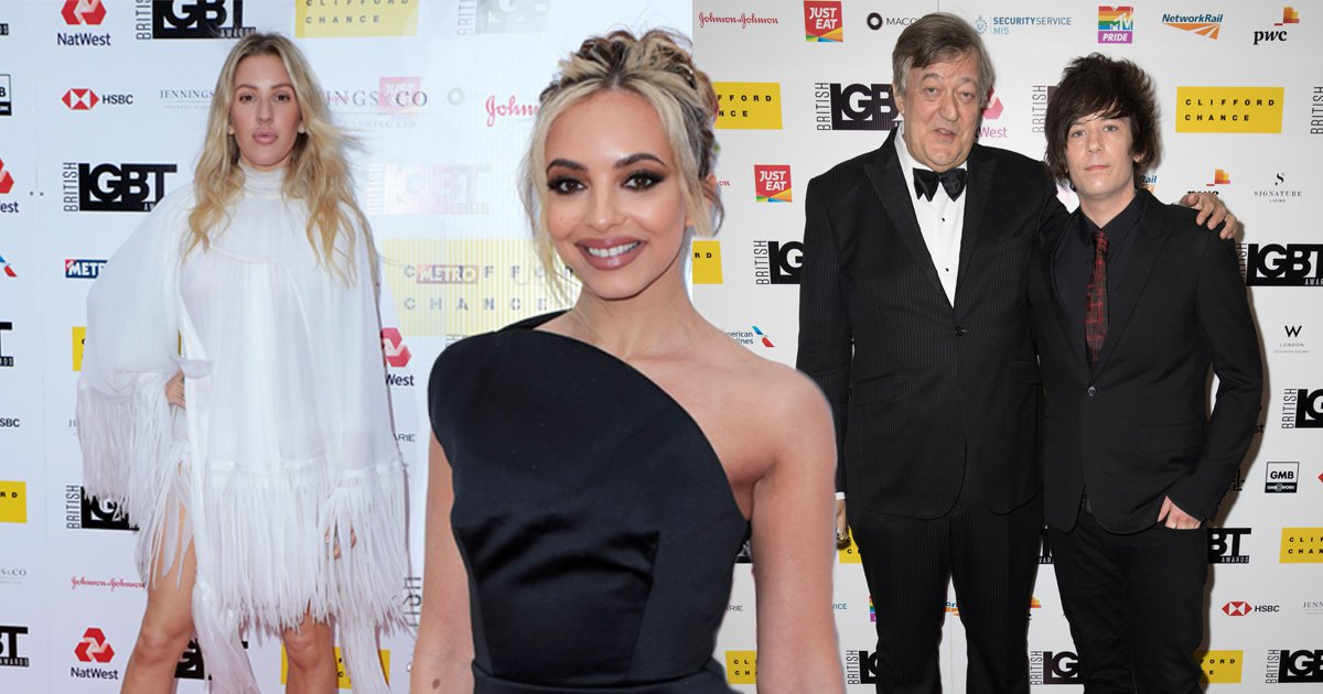 Little Mix, Ellie Goulding and Cynthia Nixon take home prizes at British LGBT Awards 2019