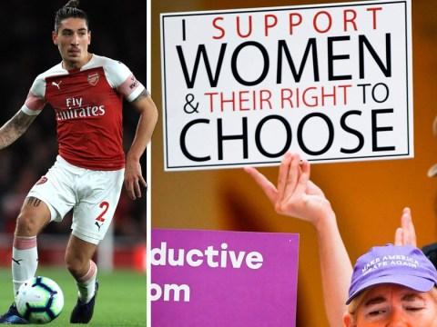 Arsenal's Héctor Bellerín urges men to oppose Alabama abortion law