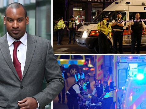 Lone hero cop fought London Bridge terrorists after they surrounded him like 'wolfpack'