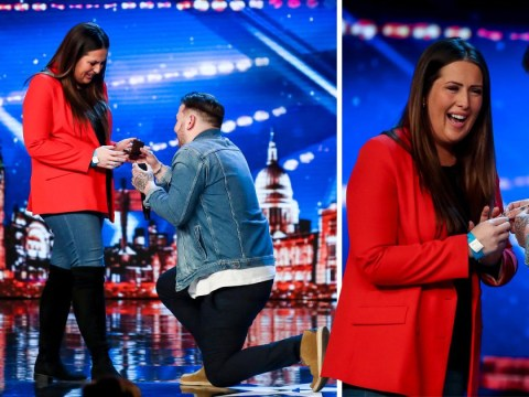 Who is Jacob Jones, the Britain's Got Talent singer who proposed to his girlfriend on-stage?