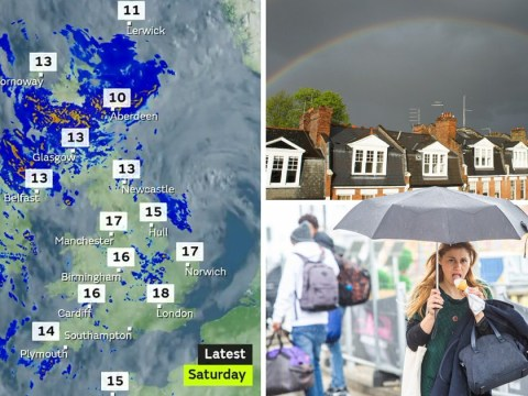 Grab your umbrella and sunnies this weekend as the weather will be hit and miss