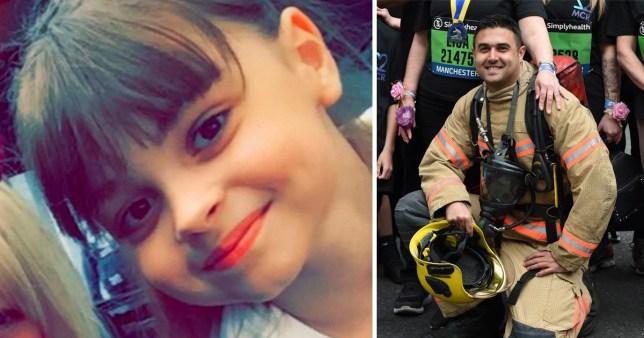 Manchester firefighter Aaron Parmar dedicates final race to Saffie Roussos