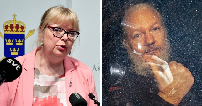 Swedish prosecutors have requested Julian Assange be detained in his absence