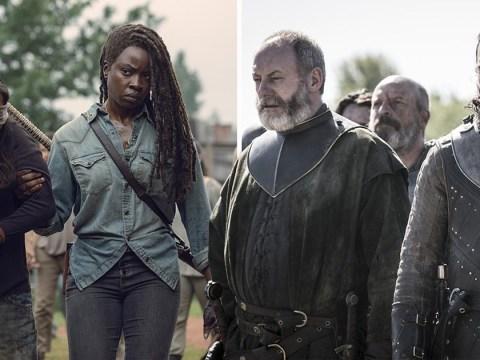 The Walking Dead congratulates Game of Thrones on season 8 finale
