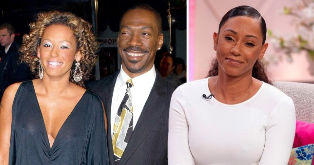 Mel B and Eddie Murphy a couple
