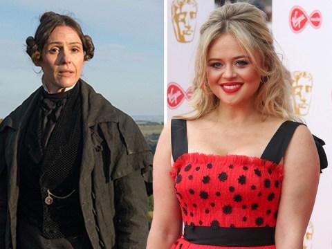 Emily Atack wants to get off with Suranne Jones after watching Gentleman Jack premiere