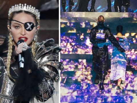 Madonna dancer who wore Palestine flag at Eurovision 'interrogated for over an hour at airport'