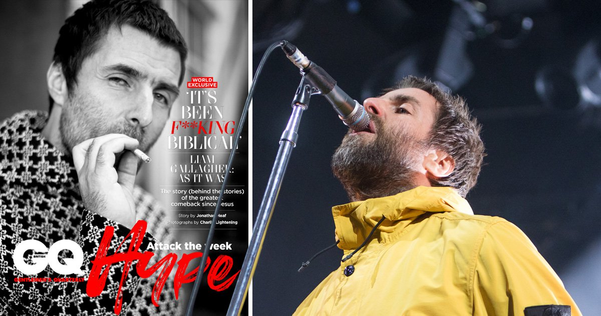 Liam Gallagher constantly told he was 'just the singer' in Oasis