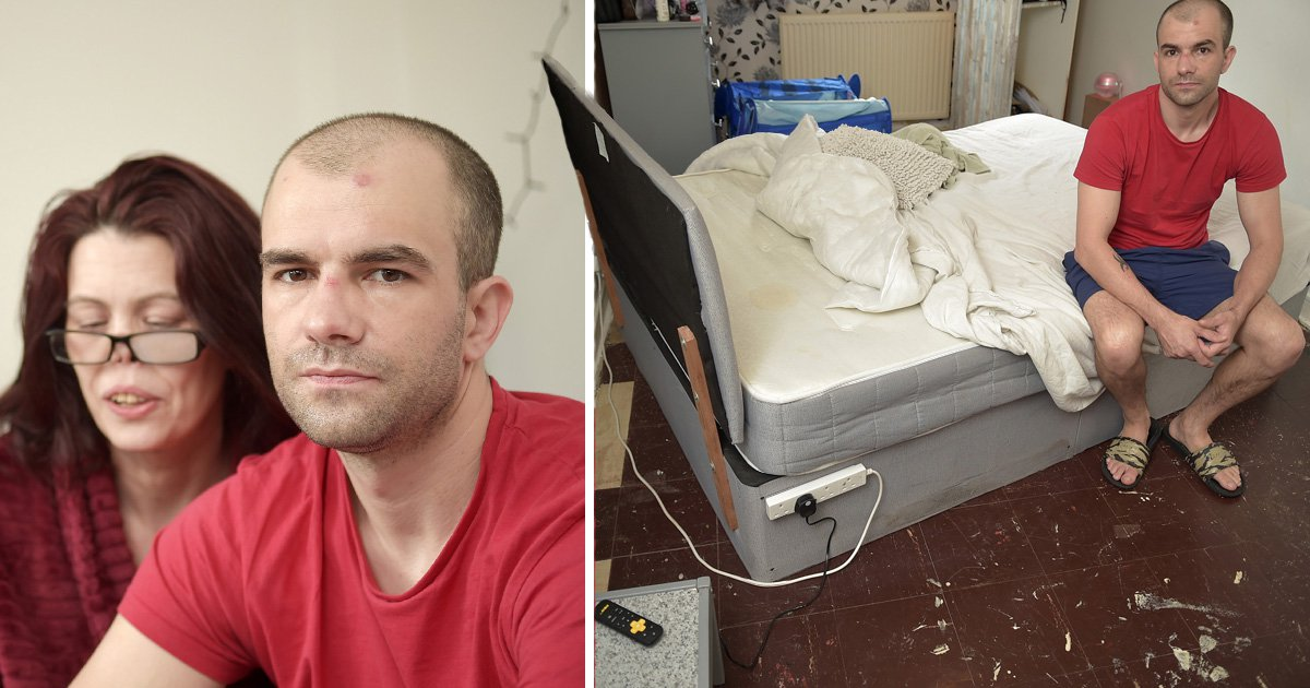 Couple's flat 'nightmare' with insects in their bed and splinters in their crotch