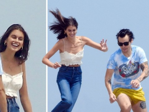 Harry Styles and Kaia Gerber are most fashionable friends ever as they enjoy beach hangout