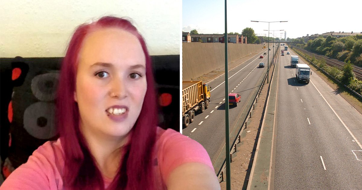 Mentally ill woman who wandered onto motorway hit with traffic charge