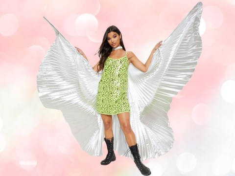 Don't be surprised if you're surrounded by people wearing wings at festivals this summer