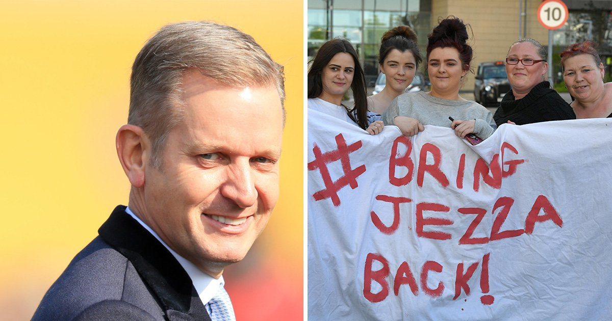 Woman stages protest to get The Jeremy Kyle Show back on air following show's cancellation