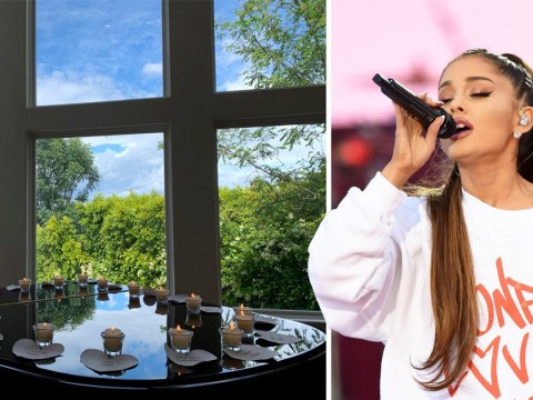 Ariana Grande's mum lights 22 candles for 22 Manchester terror attack victims