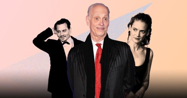 Johnny Depp, John Water and Winona Ryder
