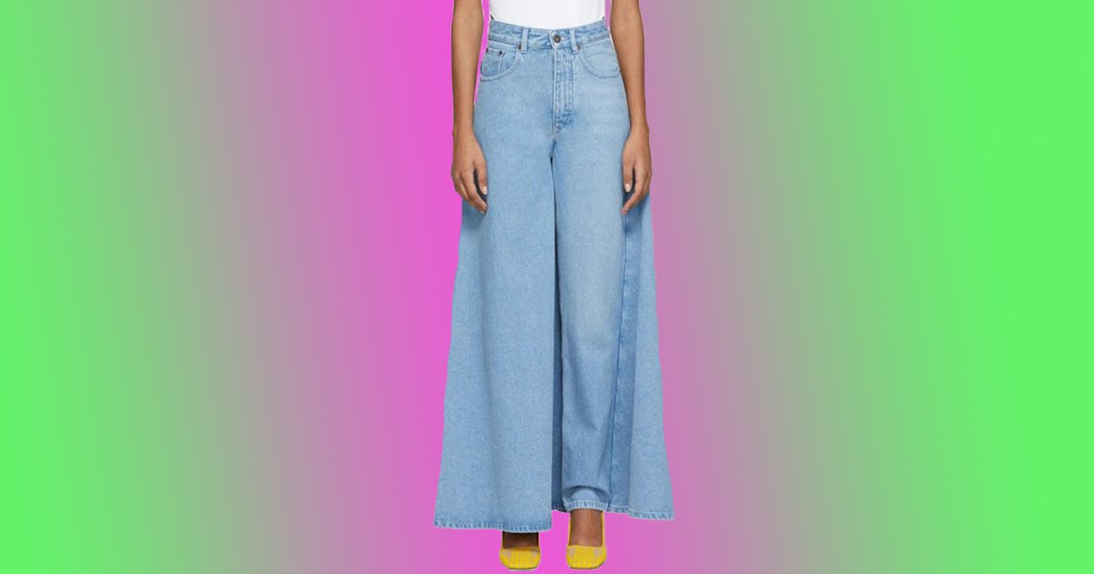 Can't decide between jeans or a skirt? Just get this £405 hybrid instead