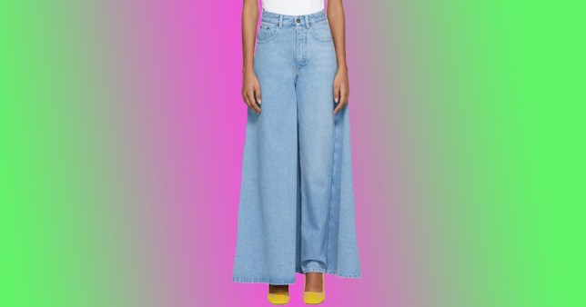 Y/Project is selling 'blue skirt jeans' for £405
