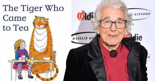 Judith also wrote titles such as the Mog series and The Tiger Who Came to Tea (Picture: Getty)