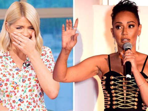 Mel B really isn't buying Holly Willoughby claiming she never slept with a woman