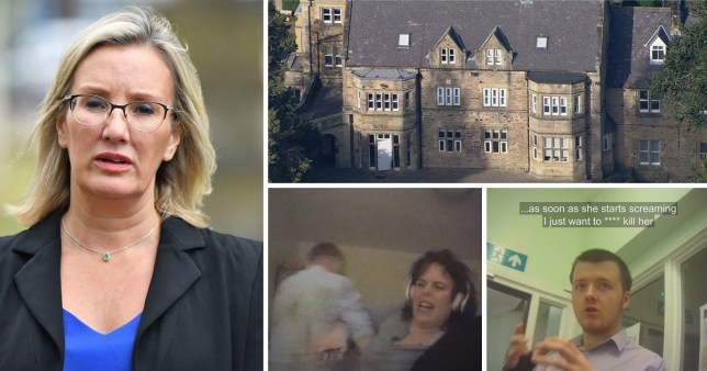 Health Minister Caroline Dinenage apologised on behalf of the NHS for the shocking treatment shown in the BBC Panorama documentary