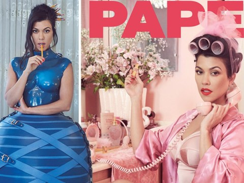 Kourtney Kardashian is a retro goddess for Paper mag as she admits she 'wants to move away from it all'