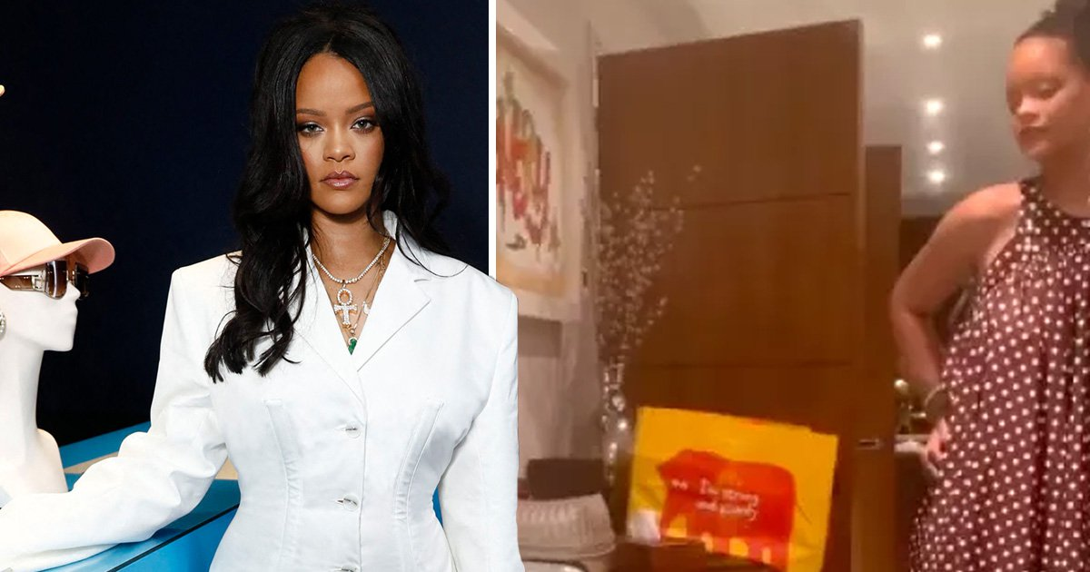 Rihanna 'drops £16k a week to live in a fancy seven bedroom London mansion' and we hope she's got a California king bed