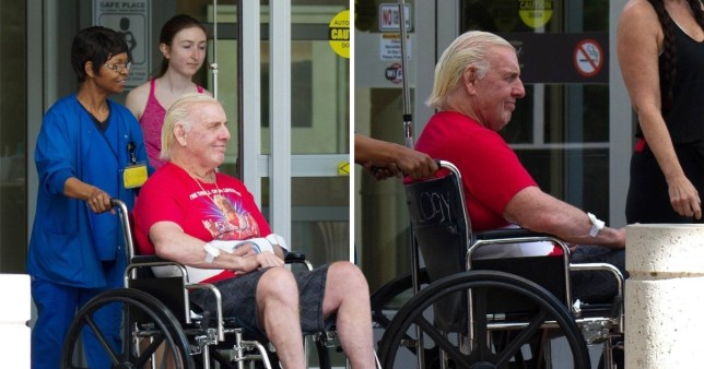 WWE legend Ric Flair discharged from the hospital after 7 days of treatment