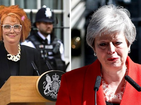 Kathy Burke offers Linda La Hughes as new Prime Minister as celebs react to Theresa May resignation