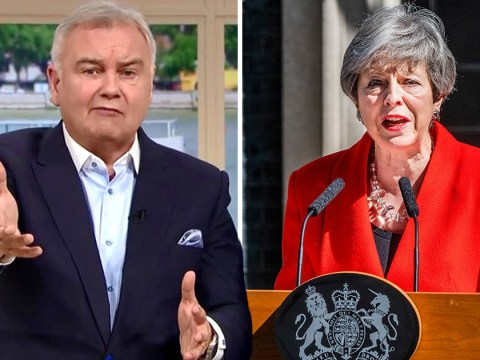Eamonn Holmes tears Theresa May apart in explosive rant after she breaks down in resignation speech