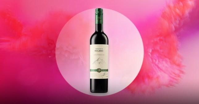 The organic wine is £6.99