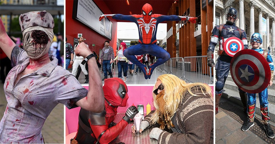 Comic Con London: Avengers steal the show as fans show off cosplay