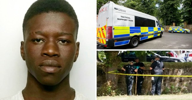 Ibraima Touray-Drammeh, 17, slashed Nathan Hale int he gut in St Katherine's Gardens, Northampton, last August.