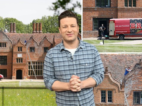 Jamie Oliver's £6million Essex mansion being renovated amid restaurant empire collapse