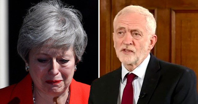 Jeremy Corbyn has called for an 'immediate' vote following Theresa May's resignation