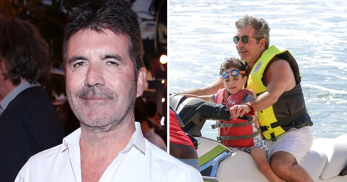 Simon Cowell worries that son Eric is going to be bullied at school